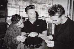 Gary Day, Alain Whyte, Morrissey