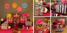 Festa Infantil, tema hippie chiq