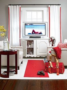 1000 Images About Tv In Front Of Window On Pinterest