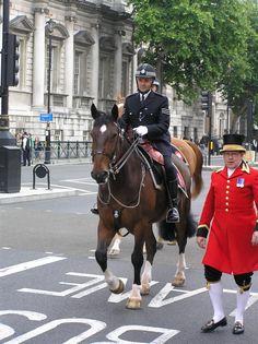 British Mounted Police