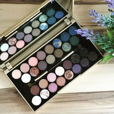"""Good morning! Buongiorno! Guten Morgen! ☕️☀️ It is finally here!!! say hello to the @makeuprevolution """"Fortune Favors the Brave"""" (14€) palette Isn't she just the most beautiful thing you have ever seen? ❤️ Who all has this treasure in their collection?:"""