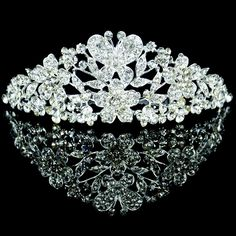 quinceanera tiaras with flowers - Google Search