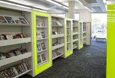 Uniflex Library Shelving www.broadstock.co.uk