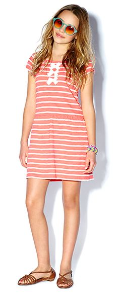 Junior Girls clothing, kids clothes, kids clothing | Forever 21 #Nautical #Stripes #Bow