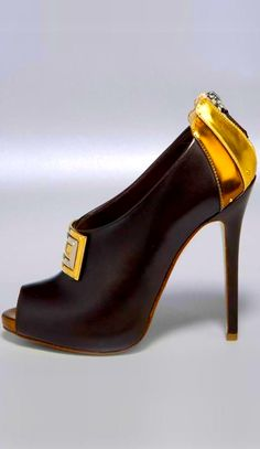 John Richmond #fashion #heels #shoes  For luxury custom made shoes visit www.just-ene.com