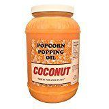 Paragon Coconut Popcorn Popping Oil (Gallon)