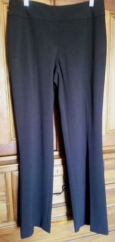 a34d876245 DRESS BARN Women's Career Slacks Pants Pull On Poly/Rayon/Spandex Blend Size  4