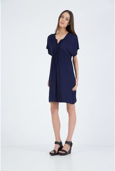 Country Road - Women's Dresses Online - Pleated Smock Dress