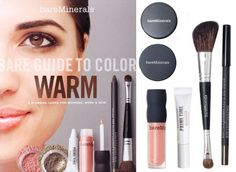 Maquiagem bareMinerals Kit Guide to Color!
