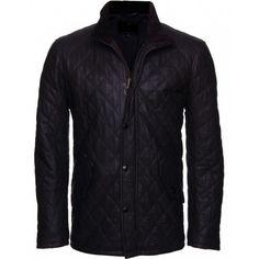 Goatskin Rebellious Men's Black Leather Jacket   #Leather Jacket; #Men Leather Jacket; #Biker Leather Jacket; #Fashion; #Motorcycle Leather Jacket; #Handmade; Uk; Usa; Canada;