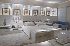 Portfólio Aline Cangussú - Casa Vogue | Modern Master Bedroom