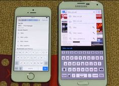 In whole world, many websites, media & people showing Apple's iPhone bigger than Samsung Galaxy in term of design and images. In real, iPhone is always smaller than Galaxy models like S4, S5. For those people : show the real images instead of making in photoshop. Apple < Samsung.