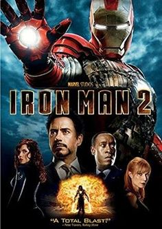 Robert Downey Jr. & Mickey Rourke & Jon Favreau-Iron Man 2