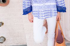 BLUE AND WHITE BLISS | Luella & June