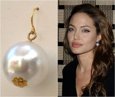 Angelina Jolie's Inspired Simple White Pearl by roomofyourown, $19.00