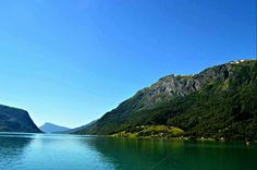 View of Sognefjord from Skjolden, Norway