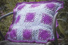 Dianna's crochet cushion by Emma_Seward, via Flickr