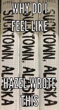 Hazel's Journal from Alaska finally got published!!