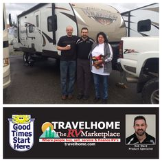 Congratulations to Wanda & Ralph on the purchase of their Wildwood 27DBUD #traveltrailer from Rob! #Travel #Travelhome #camping #RVing #vacation #wildwoodrv