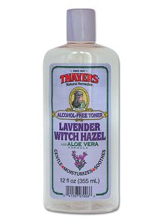 Bath & Body:  24 Natural Beauty Products Our Editors Actually Use ~ Lavender #Witch #Hazel (it's part of my daily routine, too).
