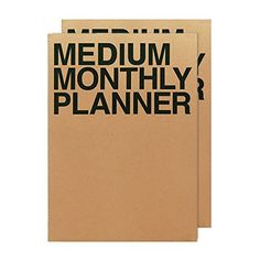Jstory Medium Monthly Planner X2 14 Sheets Brown Jstory https://www.amazon.com/dp/B00XHHBYKS/ref=cm_sw_r_pi_dp_10fHxbMDG6K6H