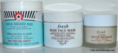 Anti-aging face mask and cream