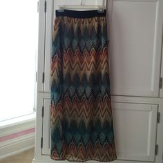 Sugar 17 Maxi Skirt Worn a couple of times but in great condition! Skirts Maxi