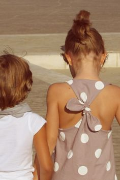 Love the back of this dress for a little girl... or a big girl for that matter ;)
