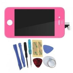 Binnbox Pink LCD Touch Screen Glass Digitizer Assembly Replacement for iPhone 4S GSM + Back Cover Case + A Set Cracked Screen Repair Tools Kit by BinnBox, http://www.amazon.com/dp/B009SYJJZQ/ref=cm_sw_r_pi_dp_BaYyrb0X1ZVVE