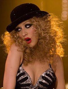 Christina Aguilera ~ Burlesque Want this as a Halloween costume.
