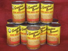 Grandma Brown's Home Baked Beans (16 oz. can)
