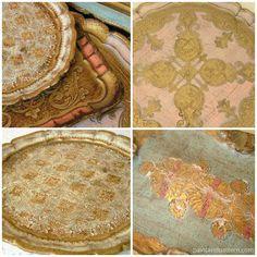 Florentine Trays | Paint + Pattern