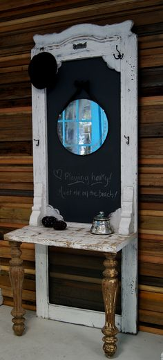 love this from an old door