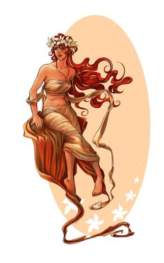 Hebe, goddess of youth a Heracles's wife