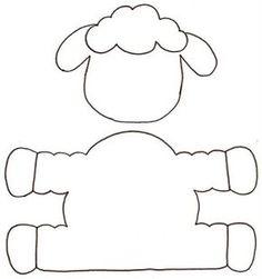 Eid Crafts, Bible Crafts, Diy Home Crafts, Sewing Crafts, Sewing Projects, Sheep Crafts, Sewing To Sell, Sunday School Crafts, Easter Crafts For Kids