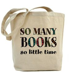 """""""So Many Books"""" Tote Bag #readers #bookworm #tote"""