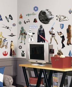 Another great find on #zulily! Star Wars Classic Characters Wall Decal Set by Star Wars #zulilyfinds