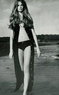 Jean Shrimpton by David Bailey, 1970