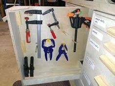 Image result for different clamps and their uses Basic Tool Kit, Basic Tools, Woodworking, Image, Carpentry, Woodwork, Wood, Woodworking Projects