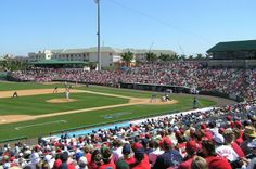 Roger Dean Stadium (1998), Jupiter, Florida, Spring Training home of the Miami Marlins and St. Louis Cardinals
