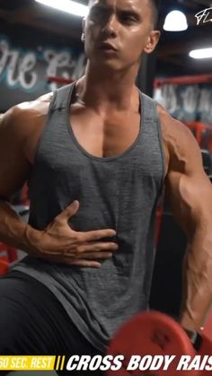 Dumbbell Chest Workout, Chest Workout For Men, Abs And Cardio Workout, Chest Workout Routine, Gym Workouts For Men, Gym Workout Videos, Gym Workout For Beginners, Weight Training Workouts, Chest Workouts