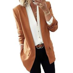Blazer Outfits For Women, Business Casual Outfits For Women, Stylish Work Outfits, Summer Work Outfits, Blazers For Women, Fall Outfits, Ladies Blazers, Dress Outfits, Professional Work Outfits
