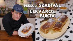 Péksuli Szabival: Lekváros bukta | Mindmegette.hu Pancakes, French Toast, Breakfast, Youtube, Food, Meal, Pancake, Eten, Meals