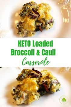 KETO Broccoli and Cauli Casserole is a MUST MAKE.  It is loaded with tons of yummy and only has 4 net Carbs...yep only 4!!    PS... there is also bacon and cheese involved...enough said! . #keto #broccoli #cauliflower #casserole #sidedish #side #ketoaf #ketorecipe #sparklesnsprouts