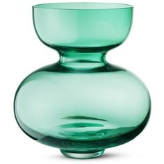Georg Jensen Alfredo tall glass vase ($240) ❤ liked on Polyvore featuring home, home decor, vases, glass vase, floral home decor, georg jensen, handmade glass vase and handmade home decor