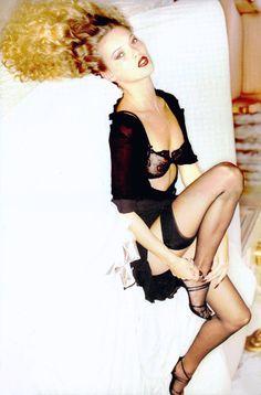 by Ellen von Unwerth for Vogue Italia 1995 - #KateMoss