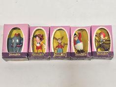 Vintage Marx Disneykins Boxes Dumbo Ringmaster Pecos Bill Pinocchio Brer Rabbit
