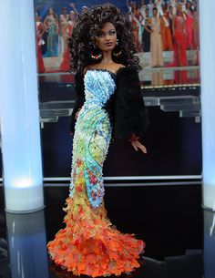 OOAK Barbie NiniMomo's Miss Chicago 2010