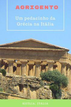 Agrigento é uma cidade na Sicília que foi dominada pelos gregos e que possui um dos principais e bem preservados sítios arqueológicos fora da Grécia. O sítio é o Vale dos Templos, que conta com sete monumentos. Você nem vai perceber que está na Itália, pois parece que você está realmente na Grécia, de tão imponente que é o lugar.