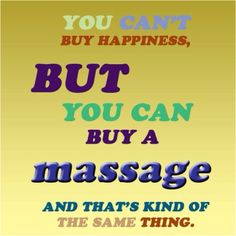 Mention this photo to us and receive $10 off of a 60 minute massage between now and the end of April!